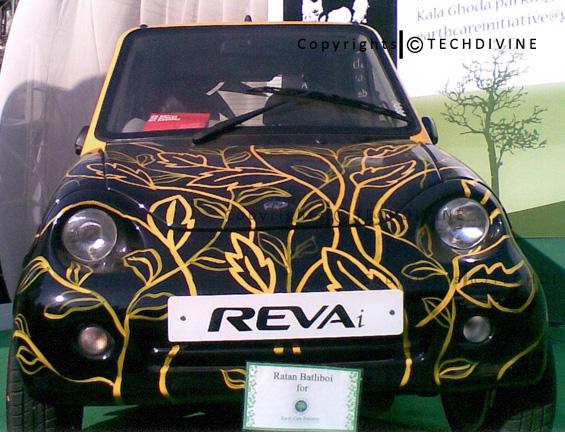 Reva : la petite voiture 100% électrique