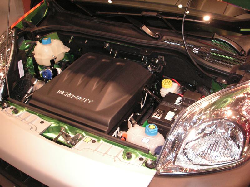 Moteur électrique du Fiorino équipé par Micro-vett