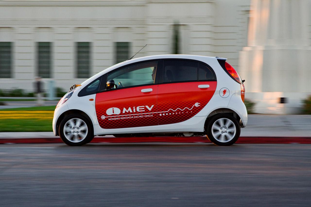 L'IMiEV électrique de Mitsubishi